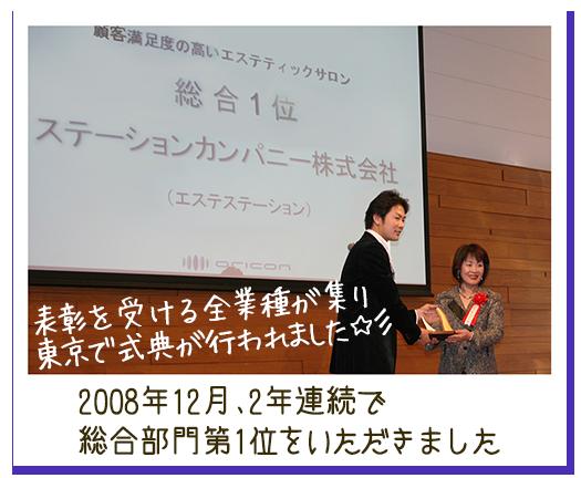 2009年度 顧客満足度「総合部門第1位」