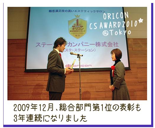 2010年度 顧客満足度「総合部門第1位」
